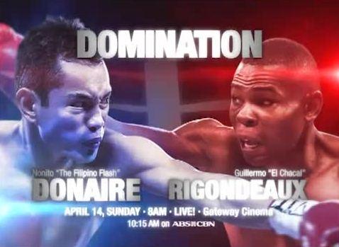 Domination: Donaire vs Rigondeaux