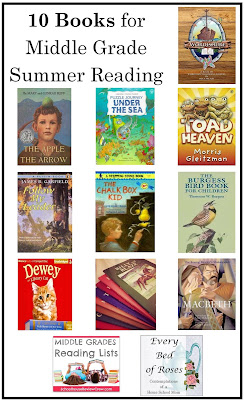 10 Books for Middle Grade Summer Reading