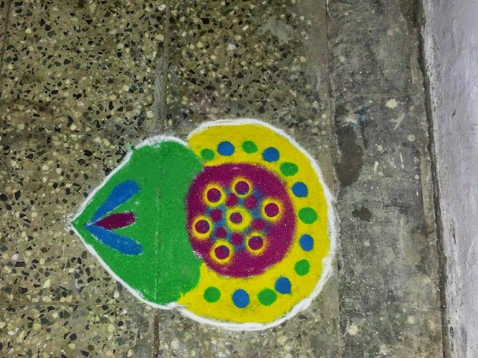 Rangoli Designs for Kids 5