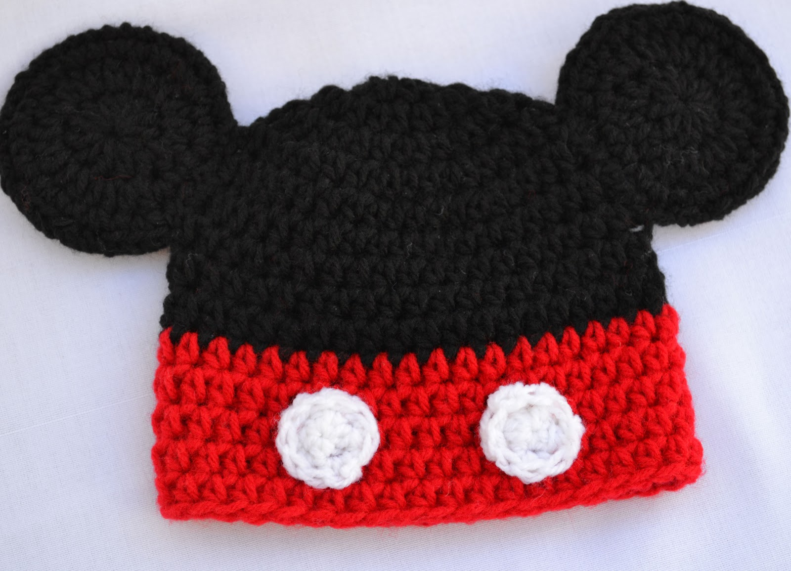 Valkinthreads handmade gifts mickey mouse crochet hat give away