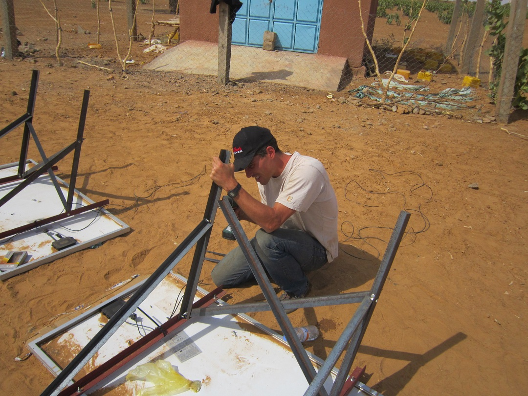 Nouakchott 2012 djadjibine chorfa mission pompe solaire - Tuyau arrosage retractable 50m ...