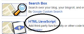 Pasang Kode HTML