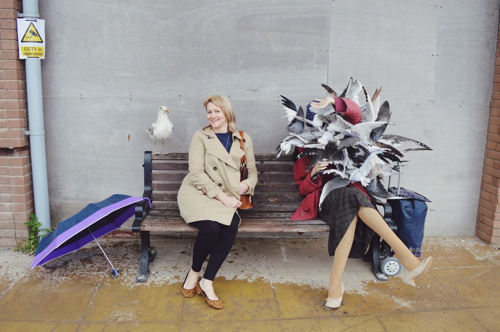 Dismaland, Banksy's Dismaland, FashionFake, lifestyle bloggers