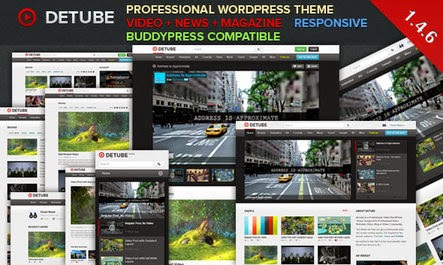 Wordpress video teması, wordpress video temaları