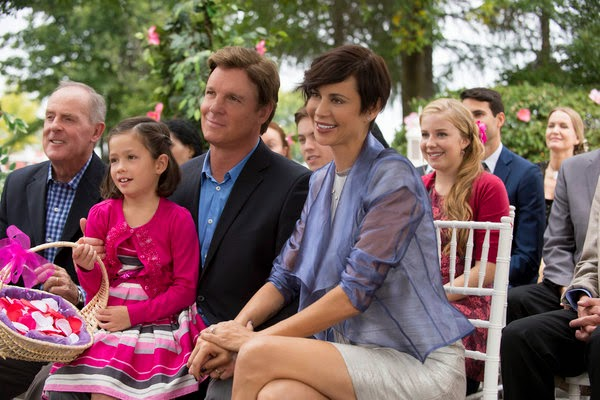 THE GOOD WITCH'S WONDER (2014). Catherine Bell stars with Chris Potter in this seventh installment of the Hallmark film series. All text is © Rissi JC