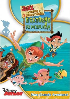 pp Jake e Os Piratas da Terra do Nunca – O Retorno de Peter Pan   DVDRip AVI Dublado + RMVB