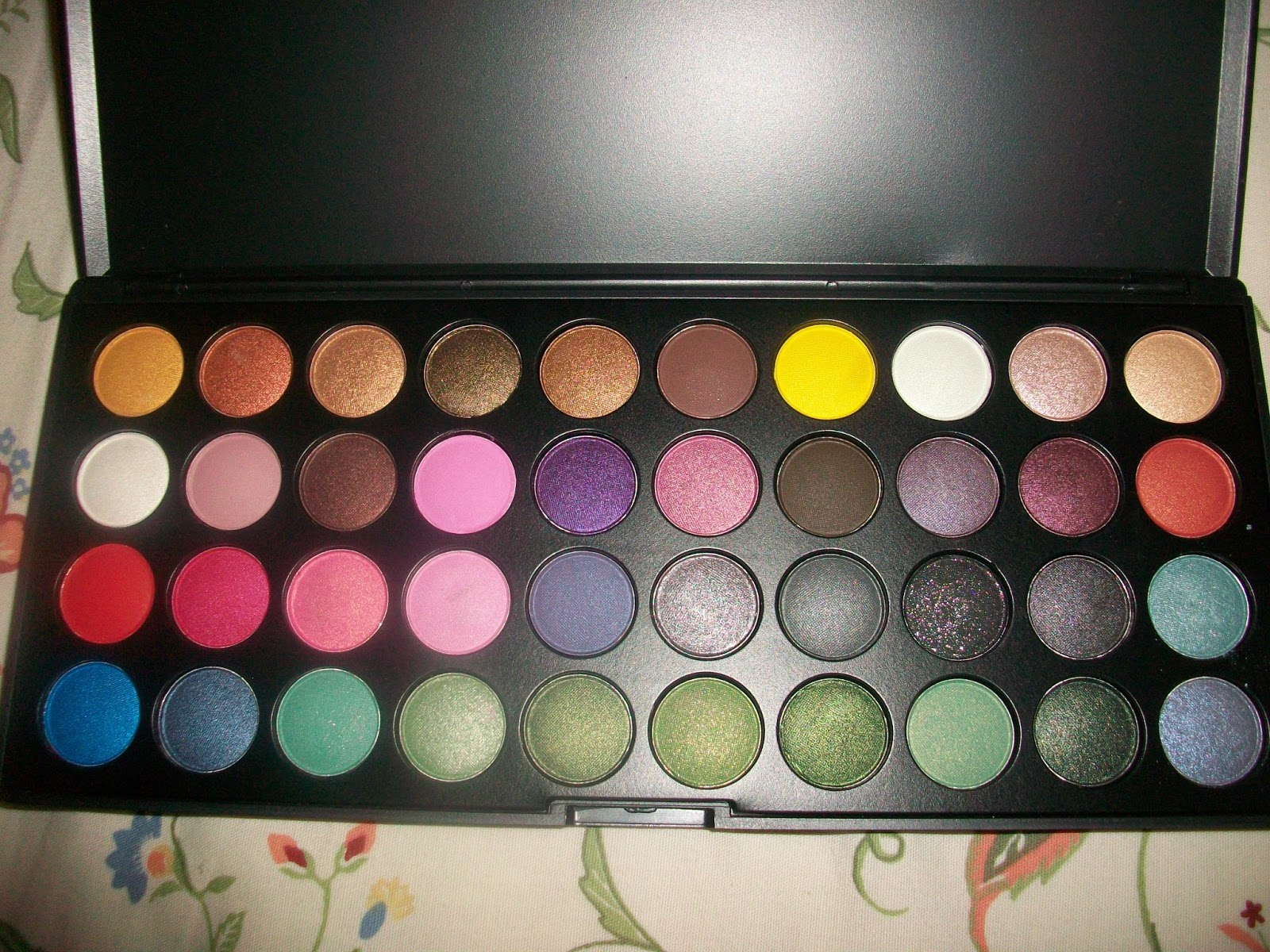 Island Girl Candy Bh Cosmetics Party Girl Palette Swatches