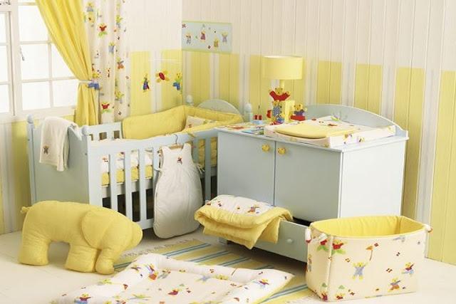 Petite Commode Chambre Bebe : décoration chambre bébé  idées déco pour maison moderne