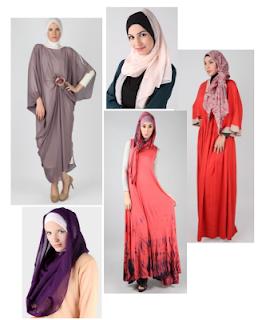 Model busana muslim wanita terbaru update 2013