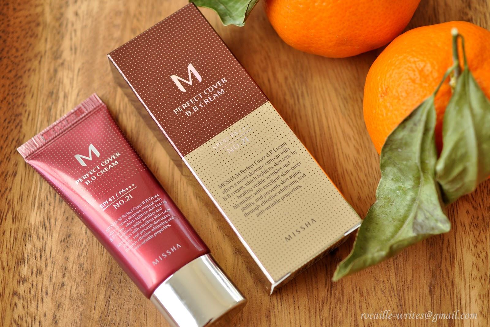 Multi-tasking Base: Missha Perfect Cover BB Cream SPF42