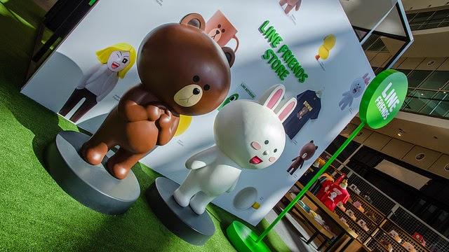 LINE Friends Pop-up store at IOI City Mall, Putrajaya