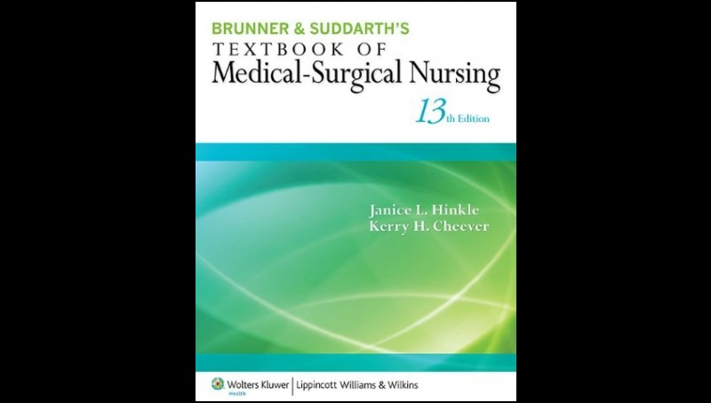 Brunner and Suddarth's Textbook of Medical-Surgical Nursing, 13th ed.