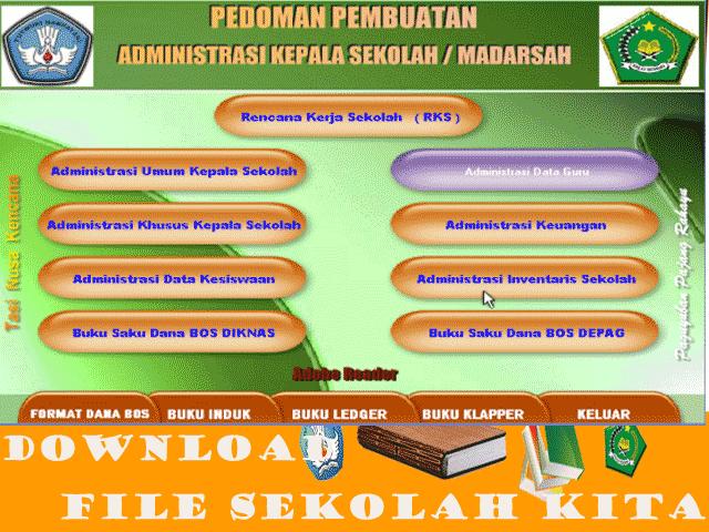 Pedoman Pembuatan Adminitrasi Kepala Sekolah Lengkap