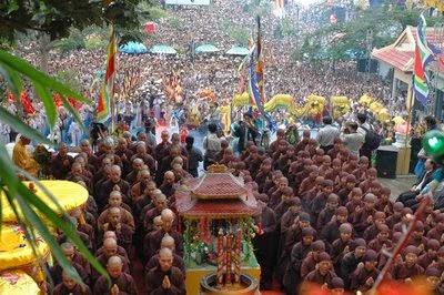 Lễ hội cầu mưa ở Chùa Dâu Bắc Ninh1