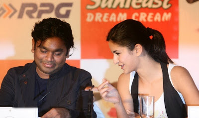 Katrina Kaif & Music Maestro A.R. Rahman at Rhyme School Album Launch Images
