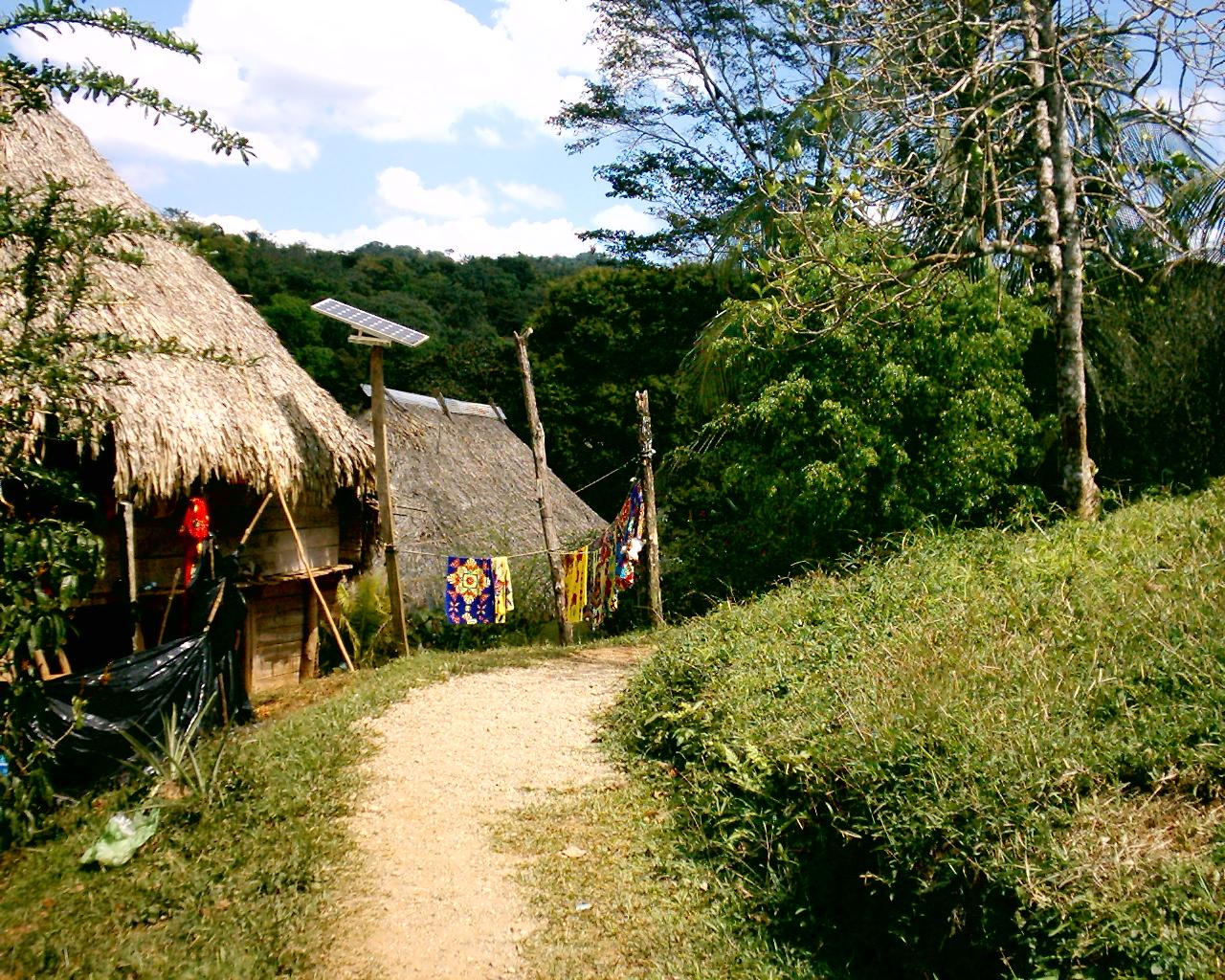 Panama Prattle An Embera Indian Village