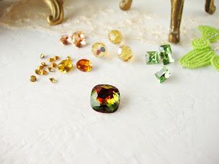 vintage crystal rhinestones antique jewelry supplies
