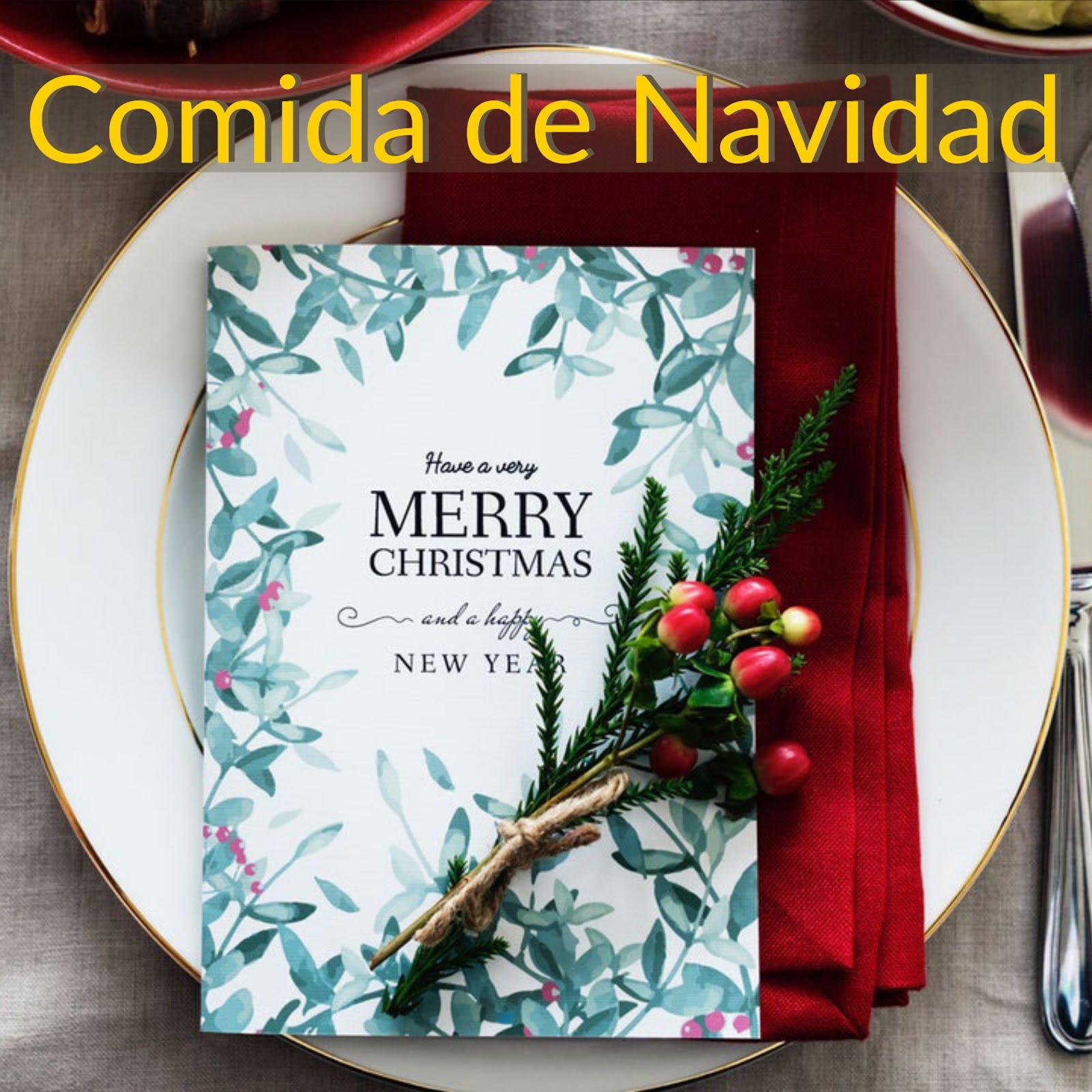 COMIDA DE NAVIDAD 15 DE DICIEMBRE
