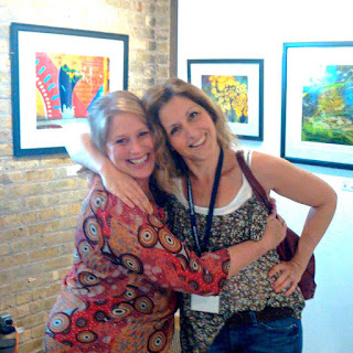 Lemon Street Gallery WI, Angela Duea and Becky Stahr, artists