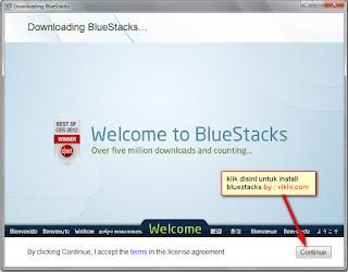 Cara Install Android di Komputer Dengan BlueStacks