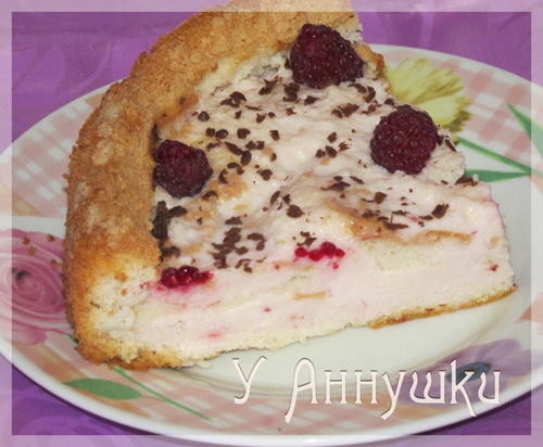 Торт из кефира и йогурта
