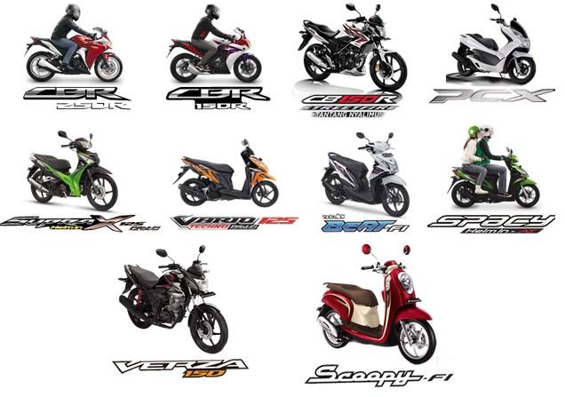 Harga Sepeda Motor Honda Terbaru 2015 (Semua Varian Motor Baru)