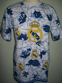 Kaos Batik Bola Real Madrid Jual Murah Grosir Eceran