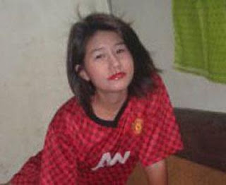 Manchester United girls Myanmar