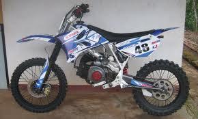 modifikasi motor trail terbaik 2013