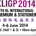 4 Jun 2014 (Wed) - 6 Jun 2014 (Fri) : KL International Gifts, Premium & Stationery (KLIGP) 2014