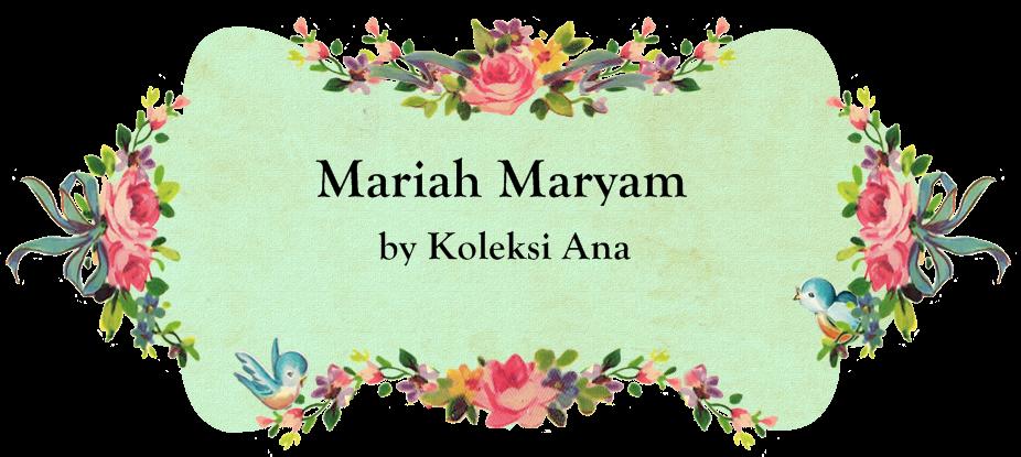 Mariah Maryam