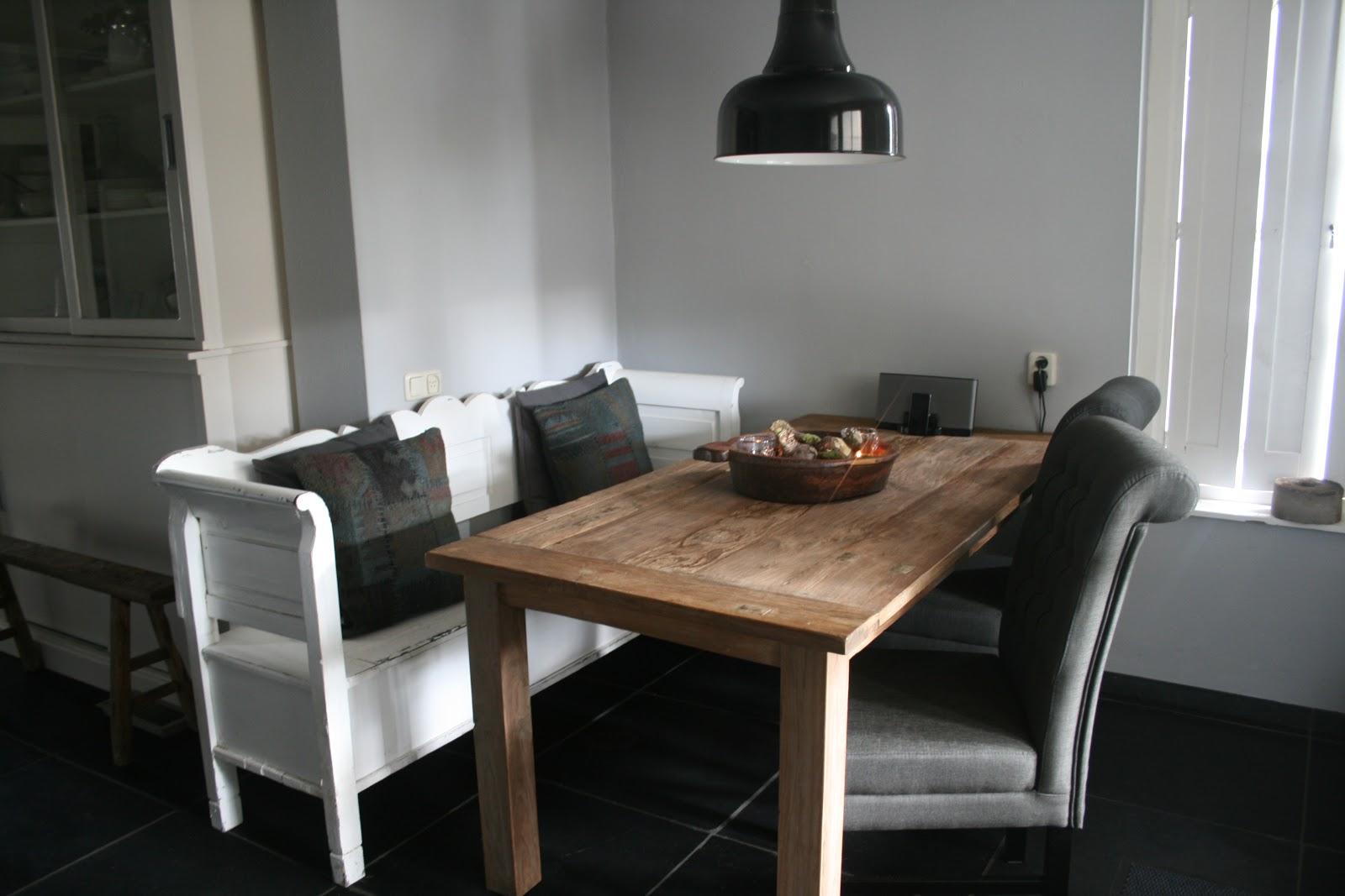 Keuken Hoekbank Met Tafel : Marjonel, puur en stoer wonen: oktober 2012