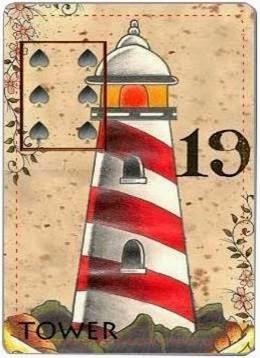carta de lenormand 19 torre