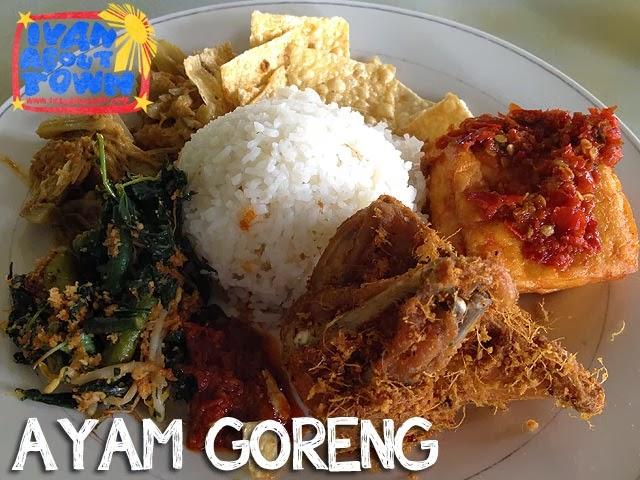 Ayam Goreng Padang in Medan, Indonesia