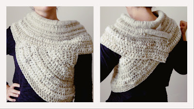 katniss cowl crochet ganchillo gancho paso a paso tutorial