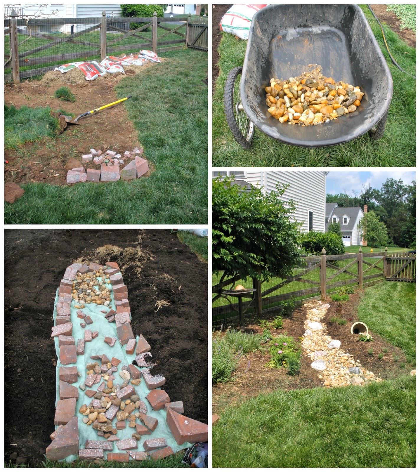 Casa mariposa the rain garden redesign for Garden redesign