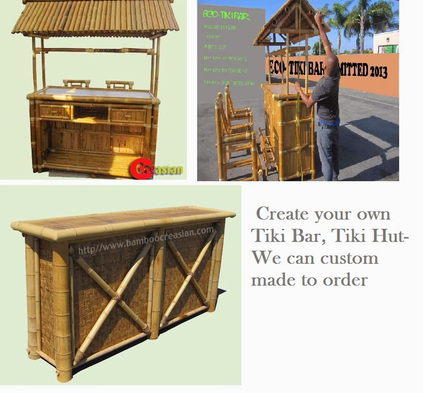 Quality Bamboo And Asian Thatch: Bamboo Tiki Bar