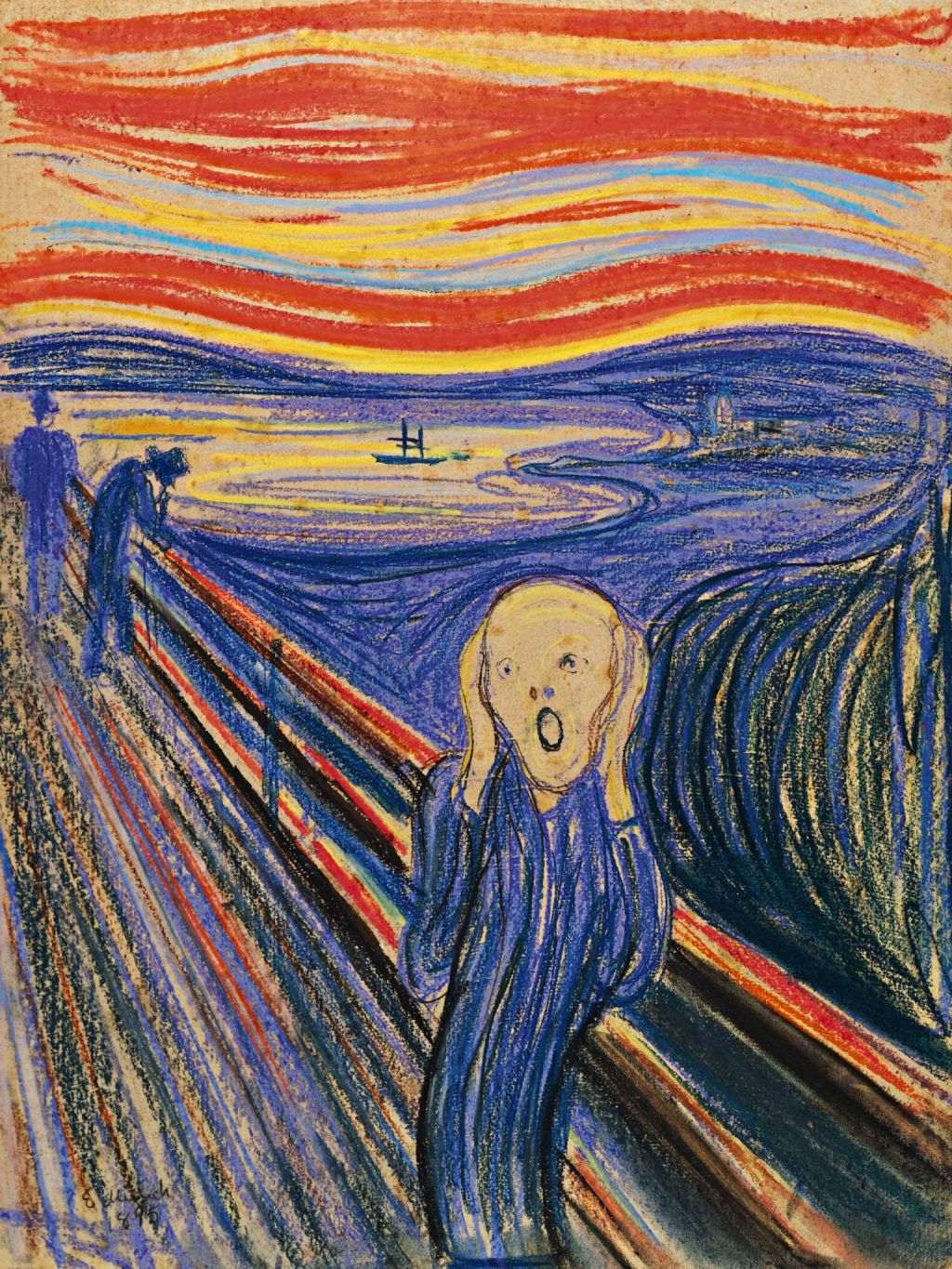 "Speed of Life: Edvard Munch's ""The Scream"" Sells for $120 Million"
