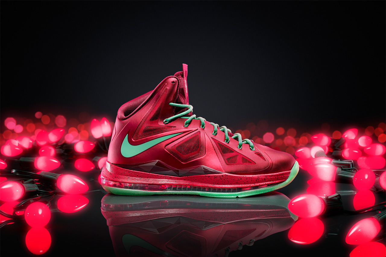Nike Christmas Versions of the Kobe 8 System, LeBron X and KD V ...