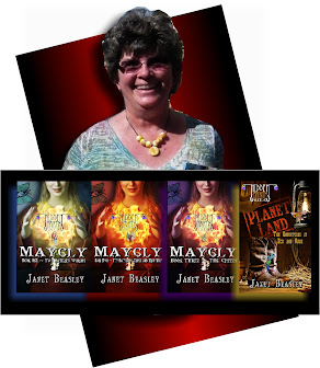 Your Blog Host: Inspirational Epic Fairy Tale Author  and Scenic Nature Photographer Janet Beasley