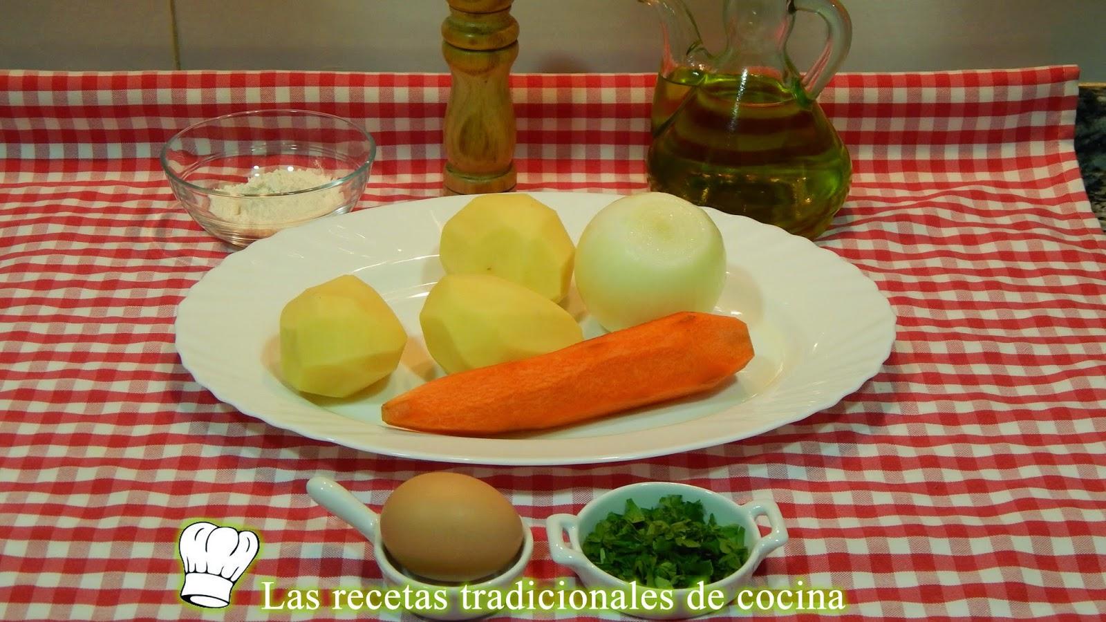 Receta fácil de tortillitas de patatas