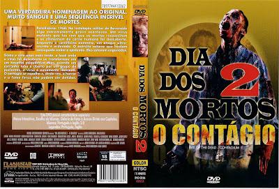 Dia dos Mortos 2 O Contágio DVD Capa