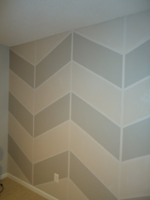 New chevron Wall=New favorite thing