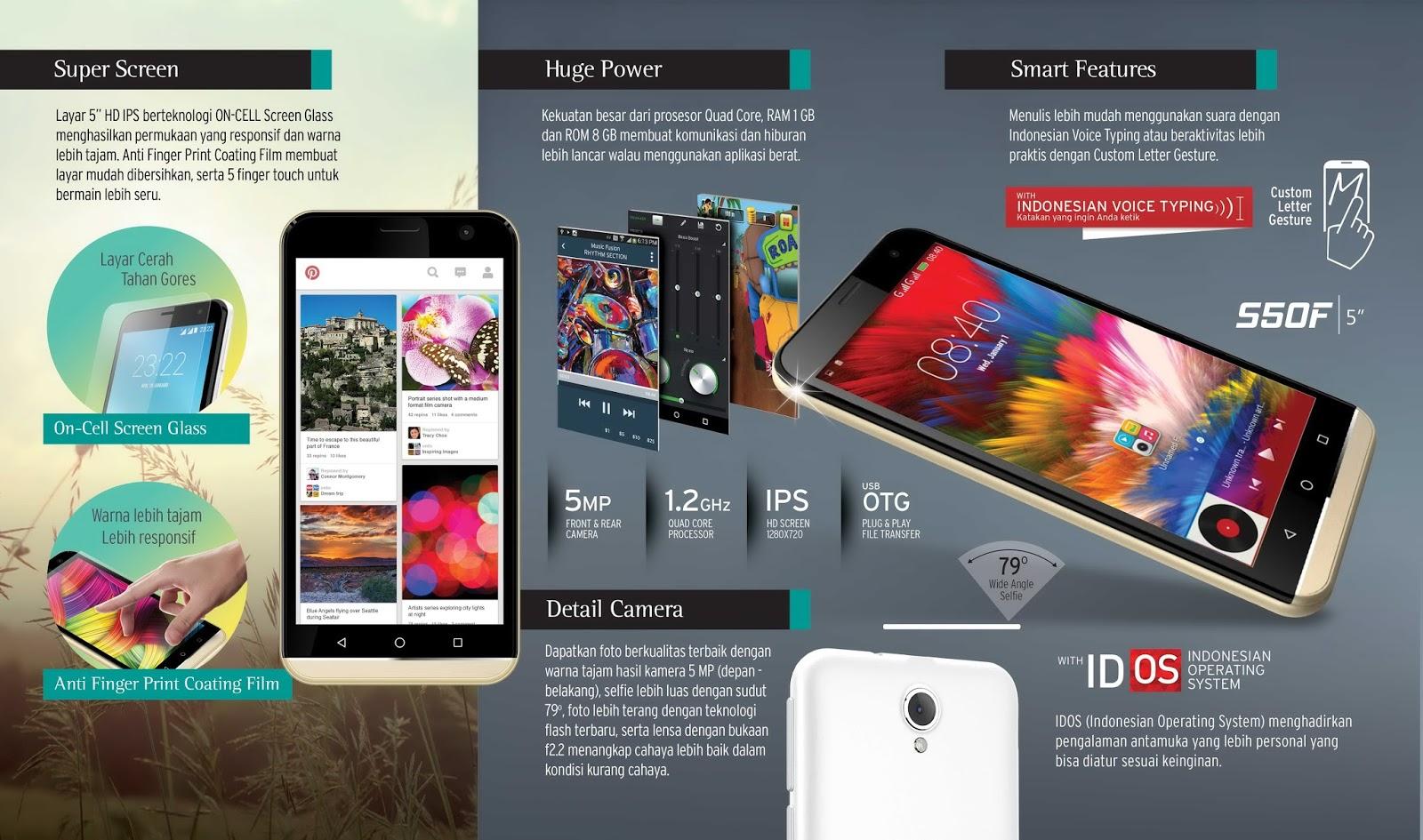 Spesifikasi Advan Vandroid S50f Smartphone Produk Tanah Air Ngintip Hp Like Follow Instagram Semua Negara