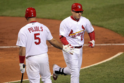Albert Pujols and Allen Craig
