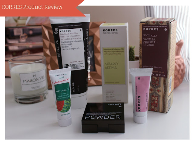 korres beauty products