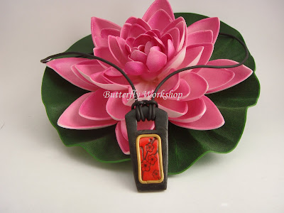 ciondolo giapponese fiori di ciliegio