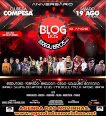 CLUBE DA COMPESA ANIVERSÁRIO DO BLOG DOS BREGUEIROS.