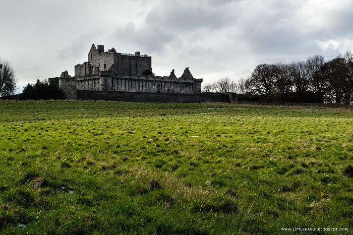 Fotografia Castillo Craimillar Edimburgo Escocia