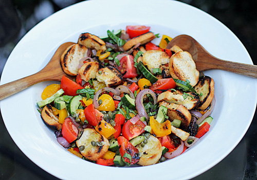The Galley GourmetGrilled Panzanella